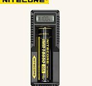 NiteCore intelligente caricabatterie UM10 DigiCharger display lcd di alimentazione USB universale nuovo arrivo originale per la batteria