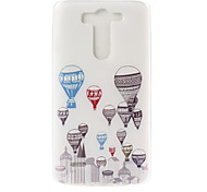 LG G3 TPU Back Cover Graphic / Special Design / Transparent / Novelty / Other case cover
