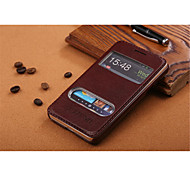 PU Leather Special Design Body  Open the window Case for Samsung Galaxy S2 I9100(Assorted Color)