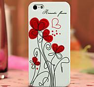 uv pc impresiones anaglifo caso para el iphone 5 / 5s Meiya-22