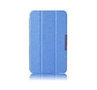 venta caliente de los colores sólidos flip de cuero elegante del caso del soporte de cuerpo completo para lg 8.3 v500 (colores surtidos)