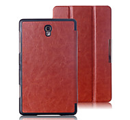 PU Leather 3 Floor Flip Full Body Case with Magnetic Buckle for Tab S8.4 T700 (Assorted Colors)