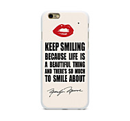Novida Personalized Design Comic Style For Iphone6 4.7Inches Case 2D PC Hard Black