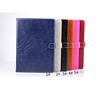 Crazy Horse Oil Wax Pattern with Stand Protective Sleeve for ipad 6