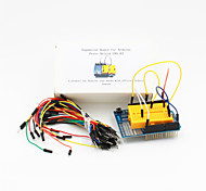 Proto Shield UNO R3 Expansion Board+Breadboard Jumper(65-Cable Pack)