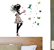 Girls Room Colorful Butterfly PVC Wall Sticker Wall Decals