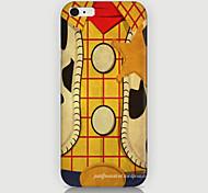 grille cas de modèle en bois couverture arrière pour plus de cas phone6