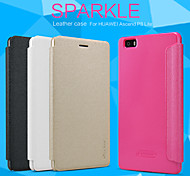 NILLKIN Sparkle Series Flip Ultra-thin PU Leather Cover Shell for HUAWEI Ascend P8 Lite(Assorted Colors)