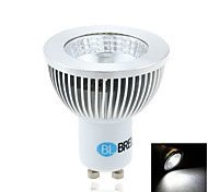 BRELONG GU10 6W 1COB 550LM 5500-6000K Natural White Spot Lights( AC 85-265V)