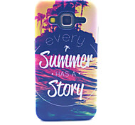 Every Summer Has A Story Pattern PC Hard Case forSamsung Galaxy Core Prime G360 G360H G3606 G3608 Back Cover