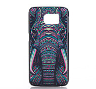 Elephant Pattern PC Phone Case for Samsung Galaxy S6