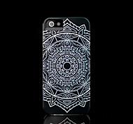 couvrent modèle mandala de fleur aztèque pour iphone 4 / iPhone 4 s