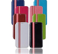 Special Design Fashion High-Grade Solid Color PU Leather Holster Full Body Cases for Samsung Galaxy S6 (Assorted Colors)