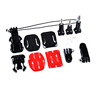 Accessori Kit 7-in-1 per GoPro eroe 4/3 + / 3/2/1 / sj4000 / sj5000 / sj6000