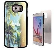 aloha ontwerp aluminium koffer voor Samsung Galaxy s6
