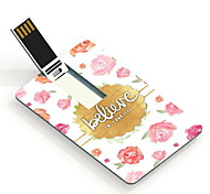 64GB croire carte de conception lecteur flash USB