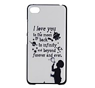 YMX-English Letters Design Pattern Protective Hard Case for Lenovo S90