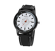 Relogio Masculino Men's Sports Watches Fashion Silicone Sport Watch  Big Dial Stainless Steel Quartz Watch