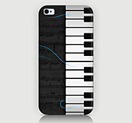 The Piano Pattern Case Back Cover for Phone4/4S Case