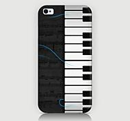 el caso del patrón de piano de la contraportada para iPhone4 / 4s