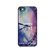 Personalized Gift Summer Love Design Aluminum Hard Case for iPhone 5/5S
