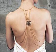 Women's Fashion Exaggerated Hollow Multilayer Body Chain