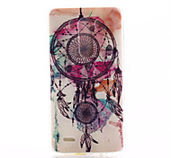 Campanula Pattern TPU Material Phone Case for LG G3