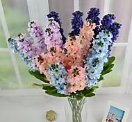 """Modern Purple Light Blue Pink Artificial Silk Swallows 4PCS/Lot Stem 29.9"""""""