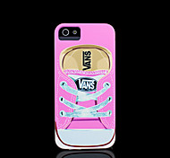 Shoes Pattern Cover for iPhone 4 Case / iPhone 4 S Case