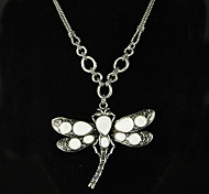 Fox&Crown Butterfly Alloy/Rhinestone Necklace Choker Necklaces Wedding/Party/Daily/Casual 1pc