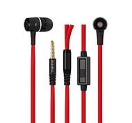 3.5mm jack de auriculares de la música para los oídos del deporte para iphone 6 5s htc Xiaomi mp3 mp4