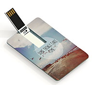 64GB Some Thins Take Time Design Card USB Flash Drive