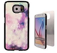 oneindig ontwerp aluminium koffer voor Samsung Galaxy s6