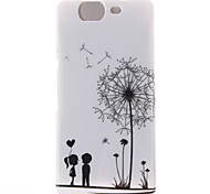 Dandelion Pattern TPU Soft Cover for Wiko HIGHWAY