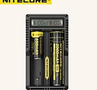 NiteCore UM20 caricabatteria display lcd caricatore NiteCore universale con cavo USB