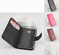 Protective PU Leather Magnetic Vertical Flip Case for Alcatel One Touch Pixi 3(4.5)(Assorted Colors)