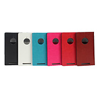 For Nokia Case Card Holder / with Stand / Flip Case Full Body Case Solid Color Hard PU Leather Nokia Nokia Lumia 830