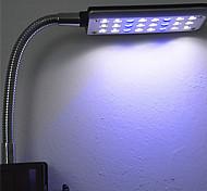 lámpara de acuario acuario llevó el mini acuario acuario clip de lámpara Soporte lámpara jl-24 táctil tipo de inducción tapón medidor o