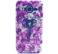 Elephant Pattern PC Hard Case forSamsung Galaxy Core Prime G360 G360H G3606 G3608 Back Cover