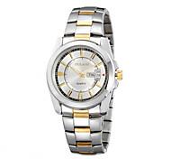 Men's Watch Calendar Japan Original Movement Classic Fashion Dial Design Stainless Steel Strap Luxury Brand Watches