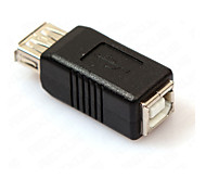 USB 2.0 Type A Female to USB 2.0 Type B Female Printer Adapter Convertor Connector Changer Extender Coupler