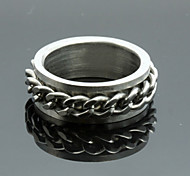 Z&X® Men's Party/Casual Fashion Chain Titanium Steel Rings