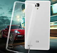 New 2015 For Xiaomi Redmi note Clear TPU Cell Phone Back Case capa para celular coque For Xiaomi Redmi note