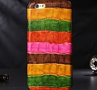 Genuine Leather Protective Back Case Cover for iPhone 6 Plus