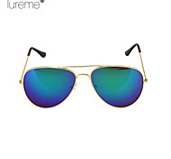 Lureme®Fashion Colorful Reflect Light Frog Mirror Women'S Ultraviolet-Proof Sunglasses