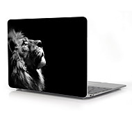 "The Lonely Lion Design Full-Body Protective Case for 12"" Inch The New Macbook with Retina Display (2015 Release)"
