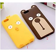 Creative New Stay Meng Cubs Cartoon Chicken Cell Phone Shell for iPhone 6 Plus(Assorted Colors)