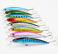 1 pcs Harte Fischköder / kleiner Fisch / Angelköder Harte Fischköder / kleiner Fisch Verschiedene Farben / Zufällige Farben 14 g/1/2 Unze,