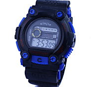 Men's Watch Military Sports Multi-Function LCD Water And Shock Resistant Cool Watch Unique Watch