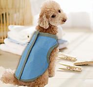 Azul - A Prueba de Agua - Material Mixto - Camiseta - Perros -